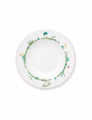 Pip Studio Jolie Beyaz Çorba Tabağı 21,5 cm 51001251