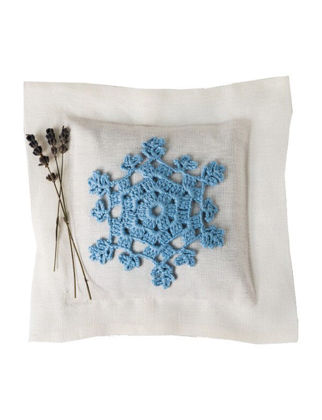 Homemade Aromaterapi Lavanta Yastığı Mavi Nakışlı 1520106480005