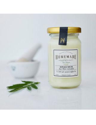 Homemade Aromaterapi Patchoulı & Lavanta Soyalı Mum Küçük 110 ml 1530706200002