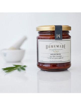 Homemade Aromaterapi Tarçın&Portakal&Karanfil Soyalı Mum-Amber-210 ml 1530701100000