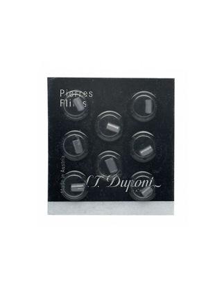 S.T. Dupont Siyah Çakmaktaşı (x8) 900600