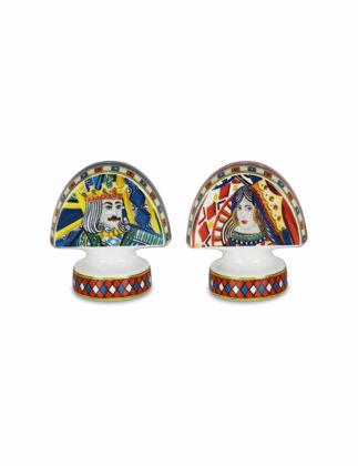Baci Milano Regina Porselen Tuzluk ve Biberlik SP.REG01
