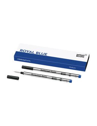 Montblanc 2 Roller Kalem Refill Medium Royal Blue 128233