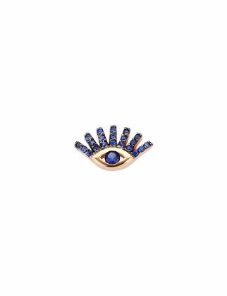 Kısmet by Milka Pave Eye Sabit Küpe 15-3-547