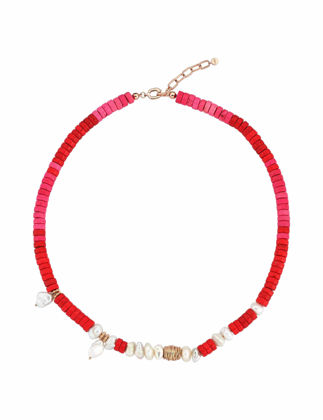 Kısmet by Milka Red Sea Doğal Taş Kolye 21-1-2286