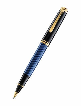 Pelikan Souveran R800 Mavi Siyah Roller Kalem 997668