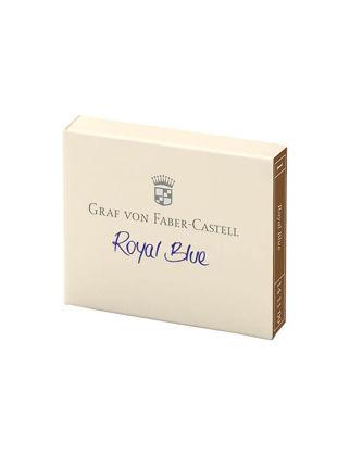 Graf Von Faber-Castell Dolma Kalem Kartuşu 6'lı Royal Mavi 141109