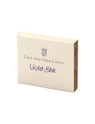 Graf Von Faber-Castell Dolma Kalem Kartuşu 6'lı Menekşe Moru 141106