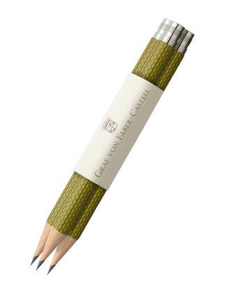 Graf Von Faber-Castell İdeal Kalem Yedeği 3'lü Zeytin Yeşili 118663