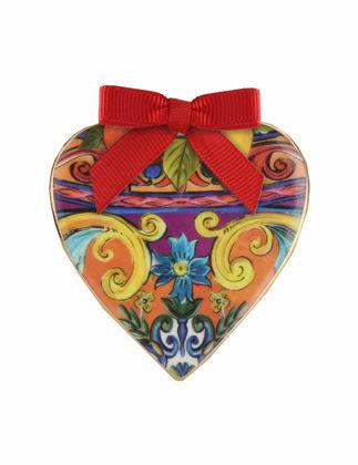 Baci Milano Gio Kalp Yılbaşı Süsü Çiçekli XHEA1.GIO02